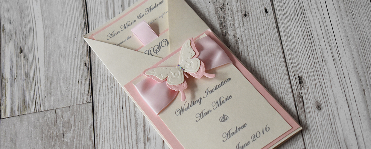 Elizabeth-Rose Designs Wedding Invitations