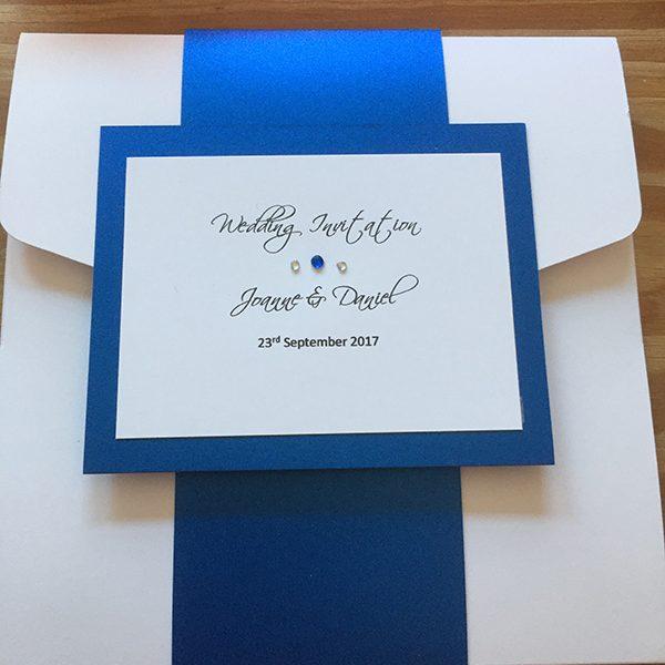 Book-Fold Invitation