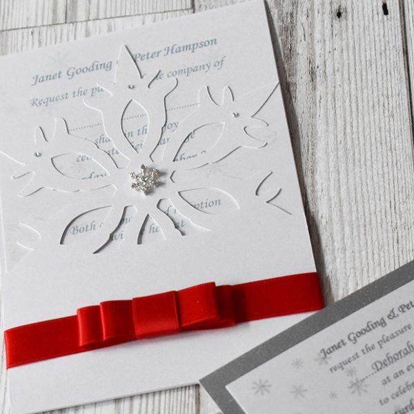 Pocket Wedding Invitations - Elizabeth-Rose Designs