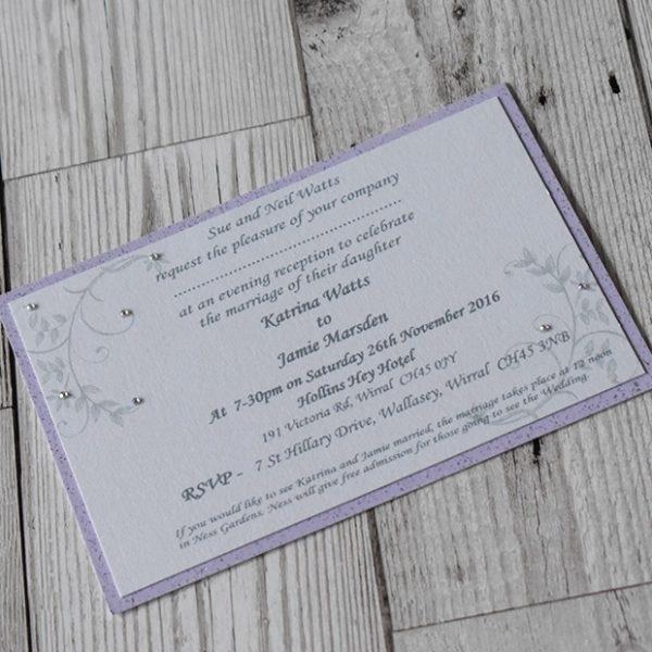Postcard Wedding Invitations - Elizabeth-Rose Designs
