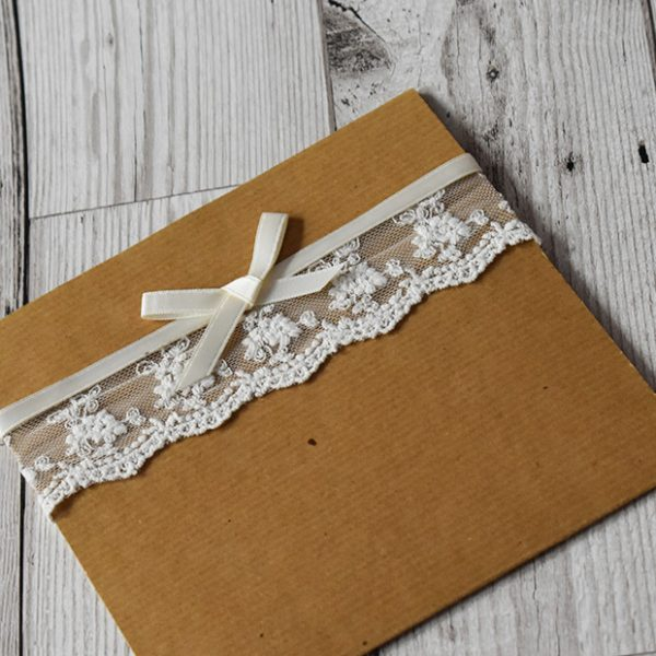 Rustic Wedding Invitations - Elizabeth-Rose Designs