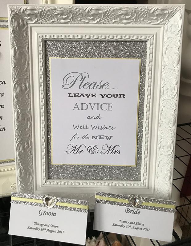 Wedding Sign - Elizabeth-Rose Designs
